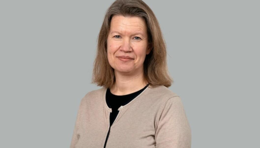 Kruse Larsen-rådgiver Anne Therese Gullberg holdt torsdag et foredrag om bærekraft på et digitalt arrangement i regi av Kommunikasjonsforeningens Oslo-studentlag