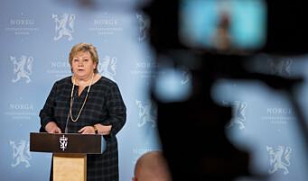 Erna Solberg refser sin egen statssekretær