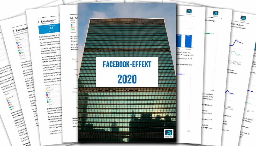 Facebook gir fortsatt bra effekt for norske virksomheter