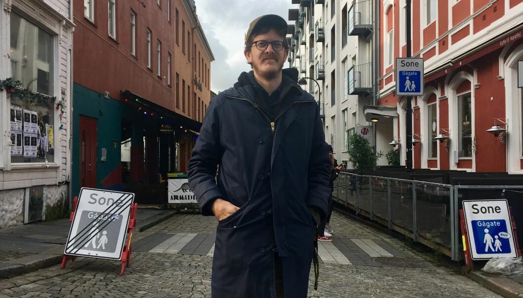 Andreas Melvær er glad for at de har hanket inn flere viktige offentlige kontrakter i det siste. Men sier at det viktigste nå er å ta vare på de ansatte gjennom siste del av den pågående pandemien.