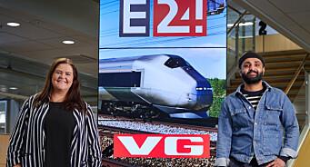 VG og E24 danket ut NRK og TV 2 på Flytoget