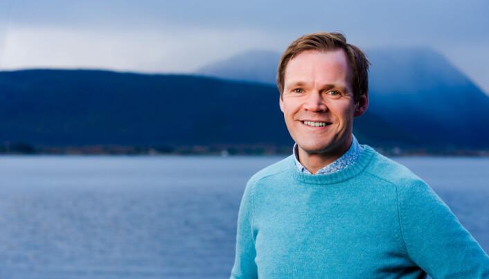 – Vi vil bli Nord-Norges største kompetansemiljø på visuell kommunikasjon, sier Martin Meisterlin.