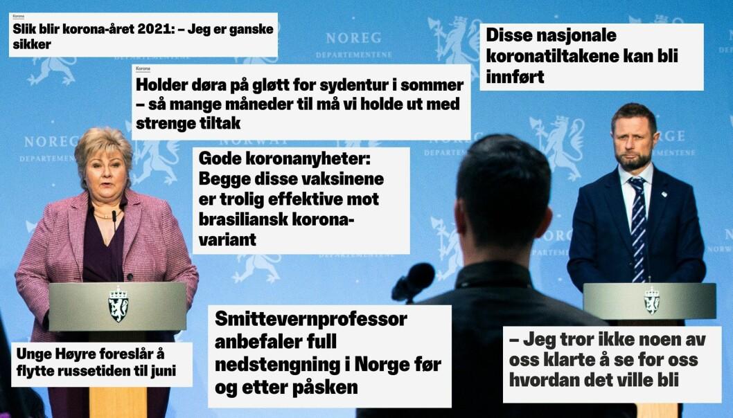 - Kommunikasjonen som vi nordmenn har måtte fordøye den siste tiden mener jeg har delvis skyld i økt smitte og det som antas er gradvis dårligere etterlevelse.