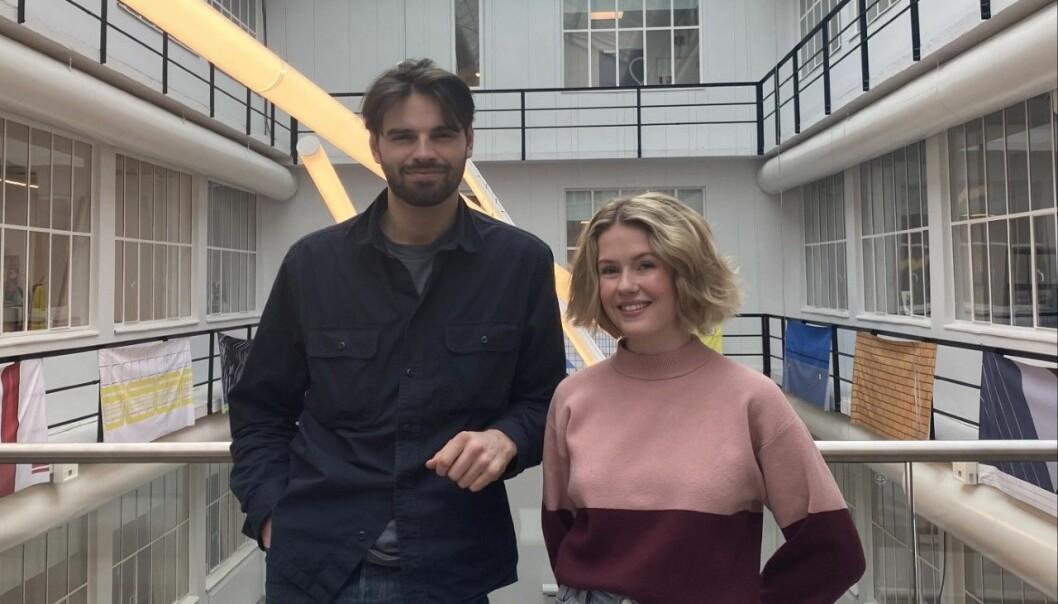 Jakob Vasbotten og Julie Tveteraas har troen på at det blir Gullkalven med publikum til stedes i år.