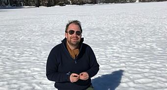 I påsken skal Kristian Hvilen leke småbruker langt inne i skogen i Vestfold