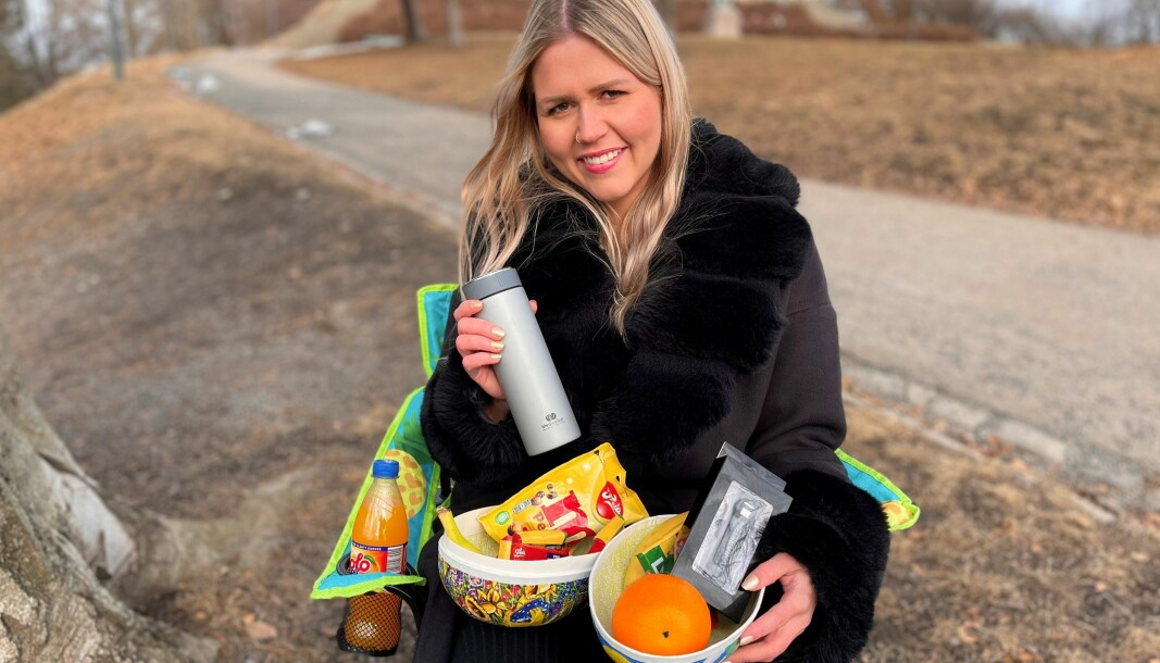Maren Kjølberg Aamot i Medievikar er godt forberedt på påsken, og skal nyte de røde dagene med påskegodt og vin