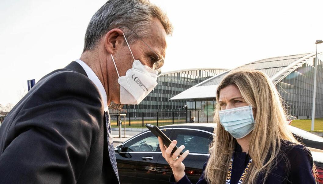 Sissel Kruse Larsen jobber som kommunikasjonsrådgiver for Natos generalsekretær. Det ga henne muligheten til å samarbeide med Det hvite hus