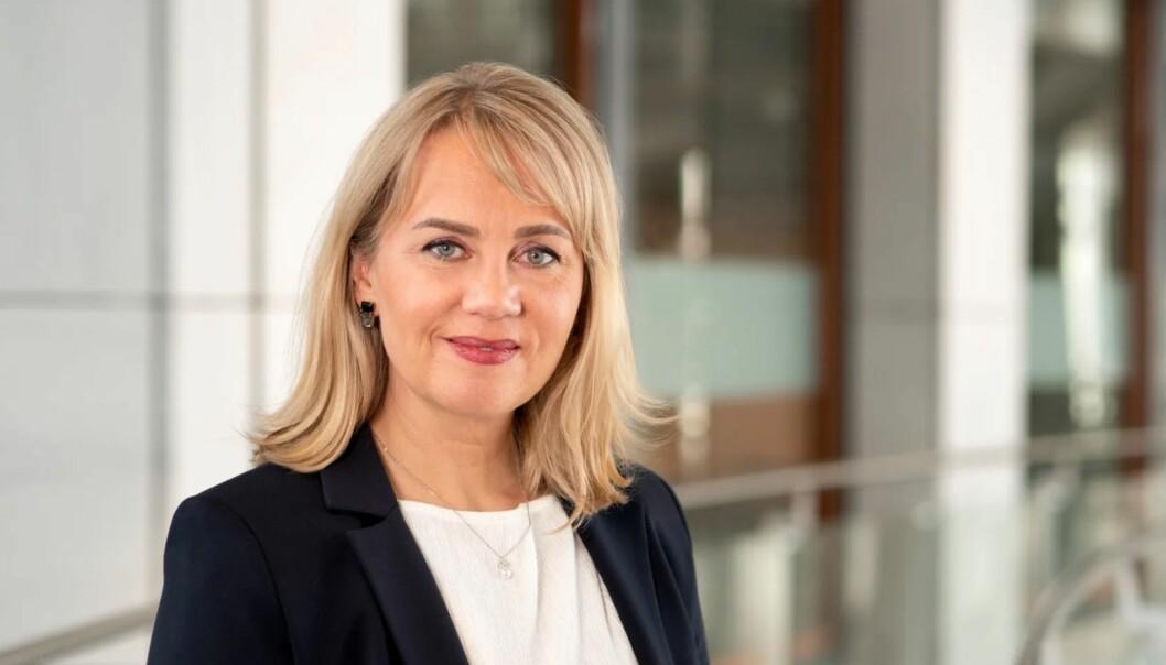 Melita Ringvold er fra 6. april ny leder for kommunikasjon, bærekraft og samfunnskontakt i Bank Norwegian.