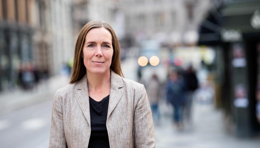 Direktør Hilde Singsaas er på jakt etter ny kommunikasjonsdirektør til direktoratet for forvaltning og økonomistyring.
