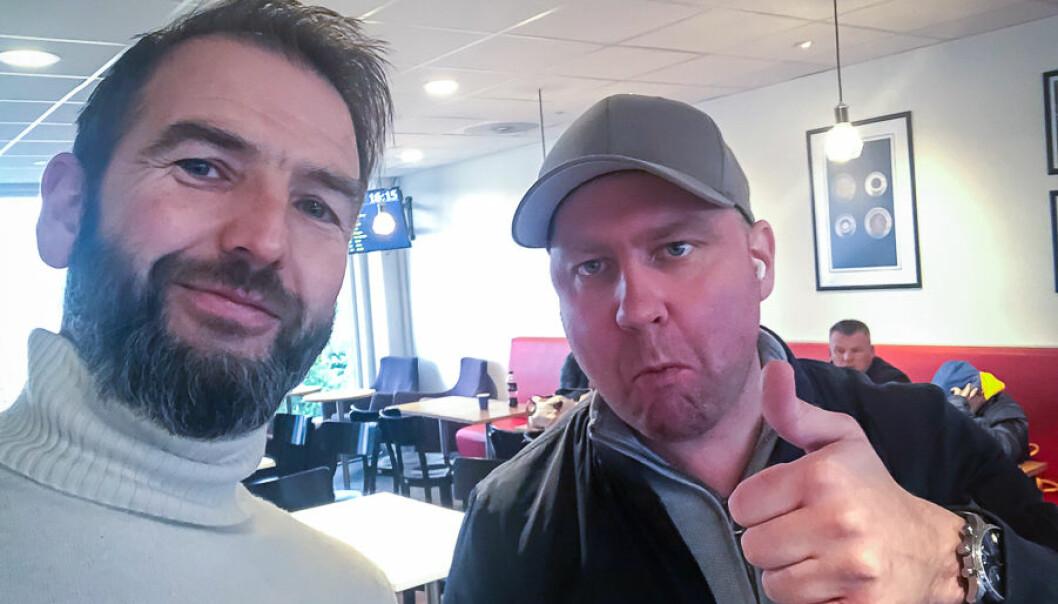 Arne Eithun og Marius Skjerve Staulen var ikkje berre sjef og tilsett, dei var og kompisar. Det gjer det heile ekstra tungt, seier Eithun.