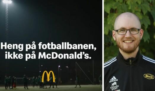 Beskylder McDonalds og NorgesEnergi for sportsvasking: – De bruker mer penger på å fortelle hva de gjør, enn å faktisk gjøre det