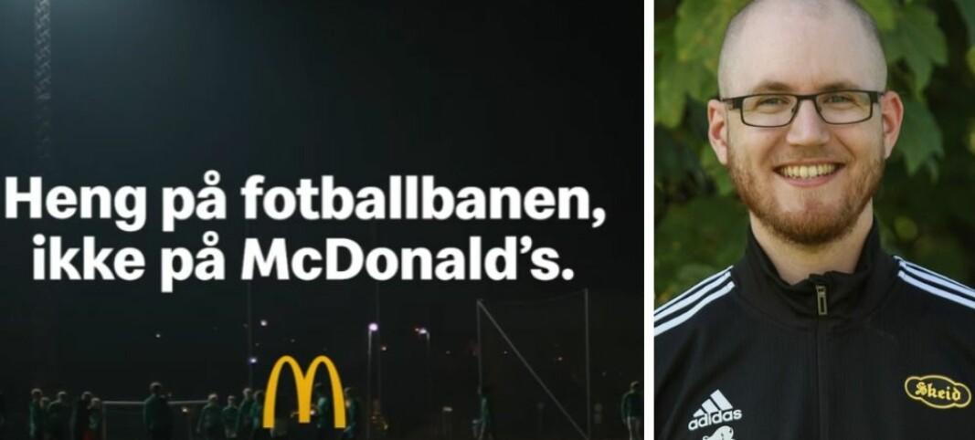 Beskylder McDonalds og NorgesEnergi for sportsvasking
