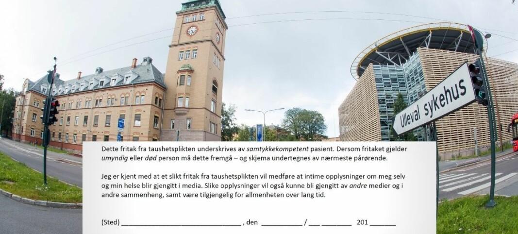 Sykehuset advarte pasienter i årevis mot pressen: Nå tar kommunikasjonsdirektøren selvkritikk