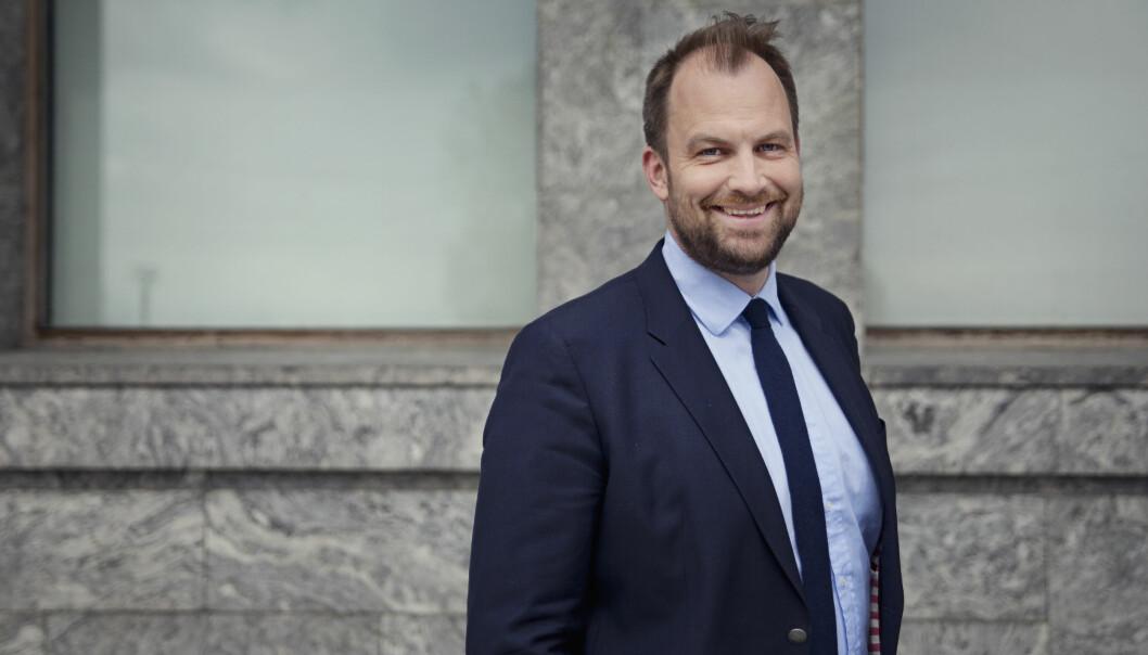 Kristian Hvilen i Rud Pedersen forteller om tøffe dager i mars 2020 som er forvandlet til rekordresultater i 2021.
