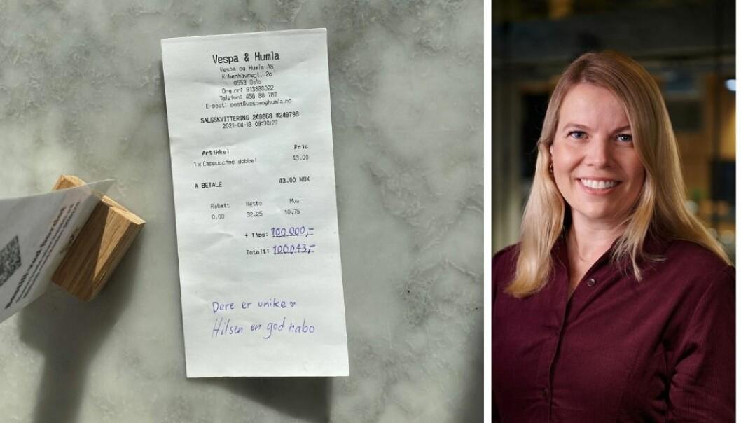 Mills med hemmelig stunt i Oslo: Delte ut 200 000 kroner til kriserammede bedrifter