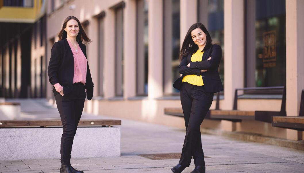 Storm Samfunn skal ledes av Julie Remen Midtgarden (36) og Zaineb Al-Samarai (33).