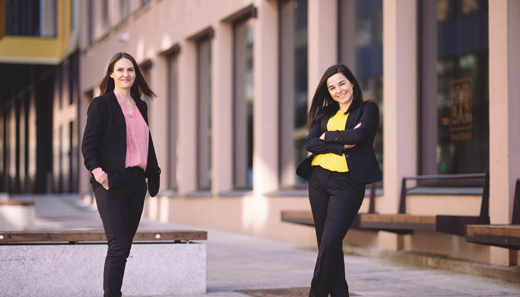 Storm Samfunn skal ledes av Julie Remen Midtgarden og Zaineb Al-Samarai.