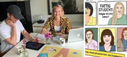 Cecilie synes det var for få kvinner på forsiden av Finansavisen: Lagde sin egen drømmeforside