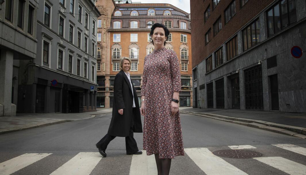 Daglig leder og partner, Guri Størvold sammen med partner Marte Ramuz Eriksen. Foto: Anita Arntzen/KONTRA Produksjon