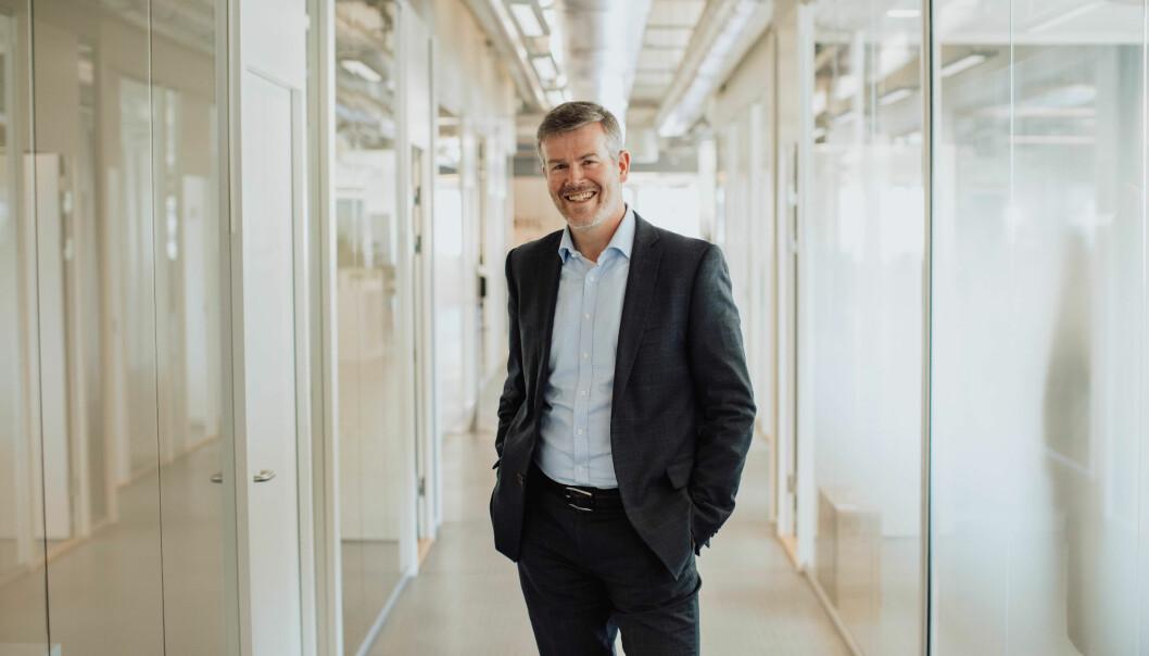 Byråelder Fredrik Hannestad i Apriil PR.