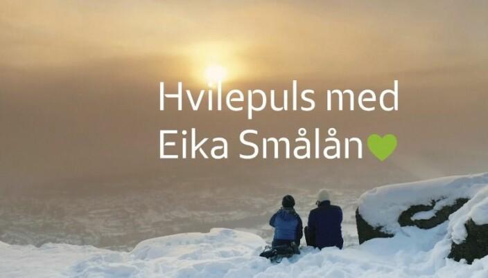 Bas var opptatt av at kampanjen skulle være ekte, autentisk og jordnært. Horsberg forteller at Eika ikke bare er for Oslo, men hele Norges bank. Et viktig utgangspunkt for reklamen.