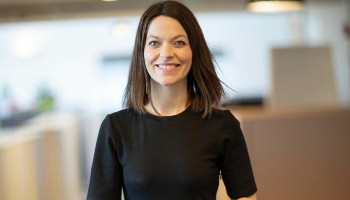 Kommunikasjonsdirektør i Skatteetaten, Astrid Bugge Mjærum, innrømmer at det har vært mye arbeid i 2020.