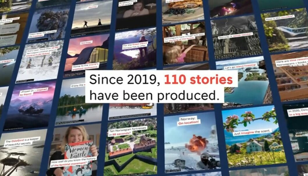 Visit Norway og byrået NewsLab er nominert i Webby Awards med konseptet «Weekly Stories». De to jobber ikke lenger sammen.