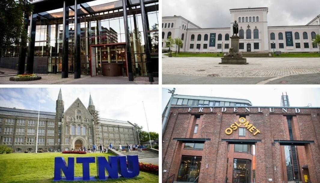 Fredag morgen kom søkertallene til høyere utdanning. Både UiO, UiB, NTNU og OsloMet tilbyr utdanninger innenfor kommunikasjon.