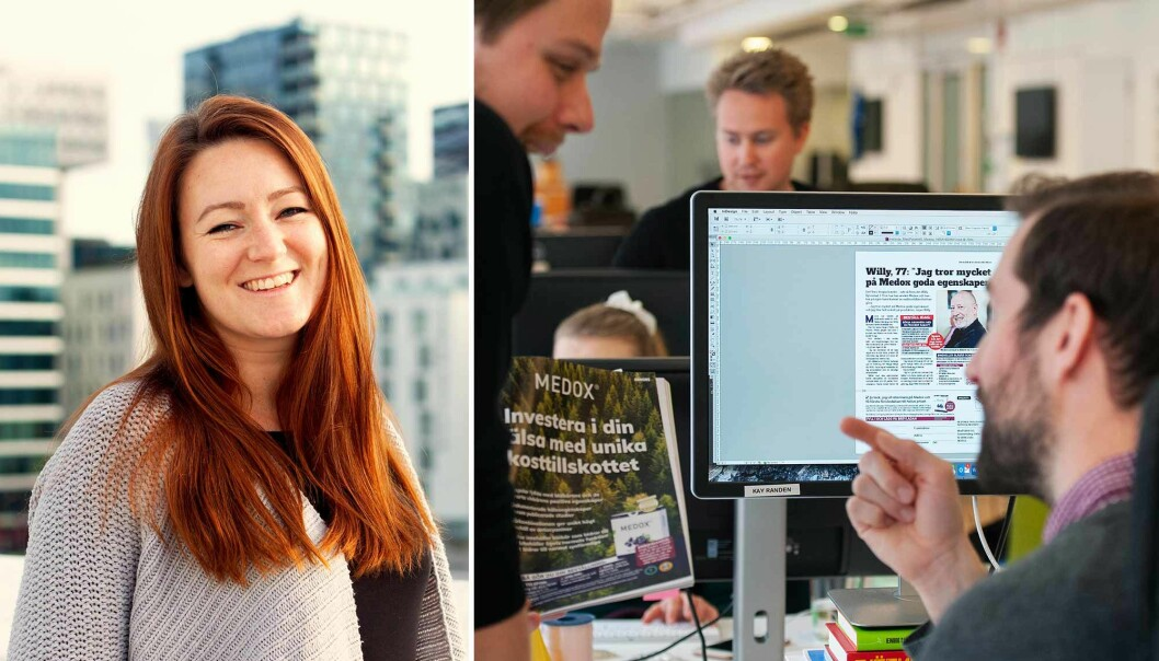Ida Christine Johannessen, ansvarlig redaktør for N365 i Norge. forteller om en rekordomsetning for byrået i 2020.