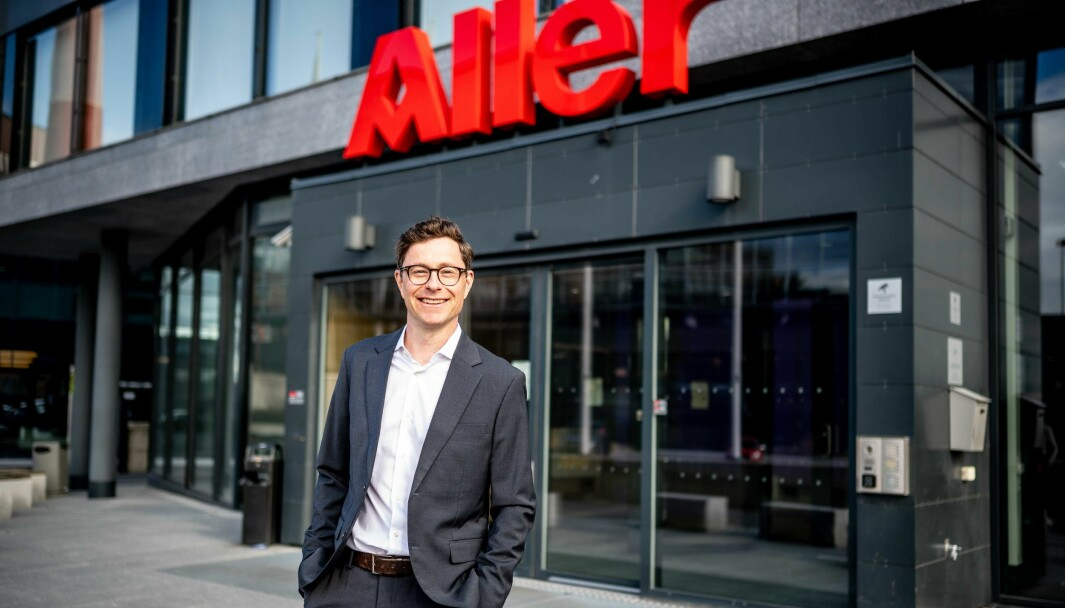 Kjetil Botten Skogly er ansatt som administrerende direktør i Aller Media-eide Ahead Group.