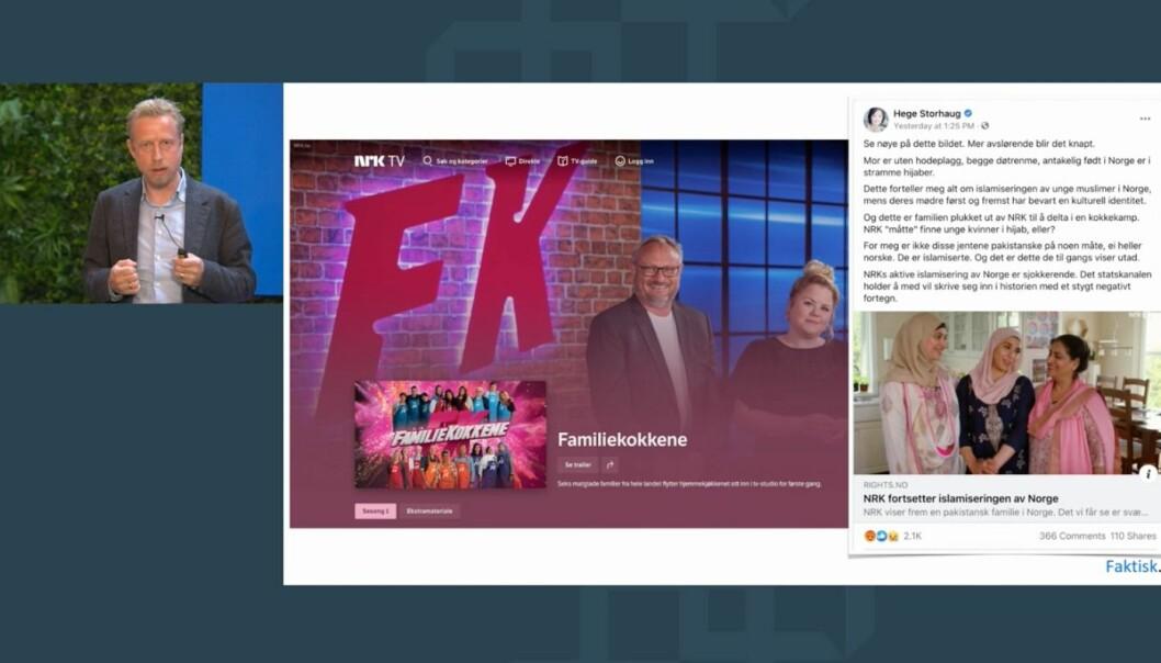 NRK ble også beskyldt for å driver snikislamisering på grunn av et tv-program hvor to jenter brukte hijab.