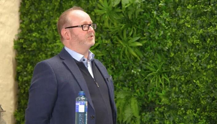 Kjetil Bjørnsrud, kommunikasjonssjef, Vann- og avløpsetaten, Oslo kommune under Kommunikasjonsdagene torsdag.