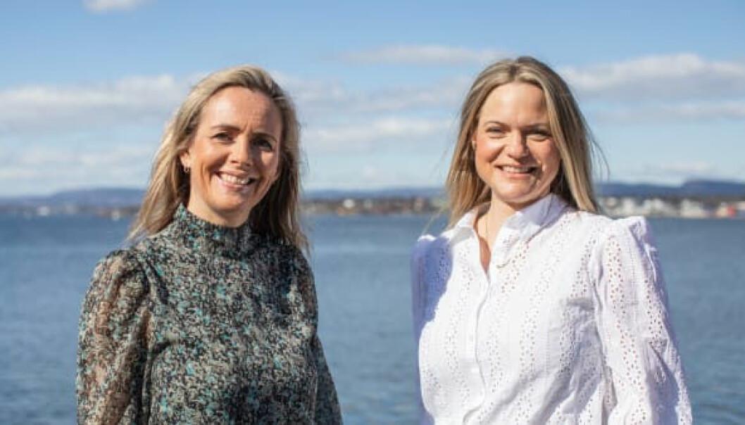 Camilla Beck (til venstre) og Guro Jahre Lund, fungerende markedssjef Norge i Sjømatrådet.