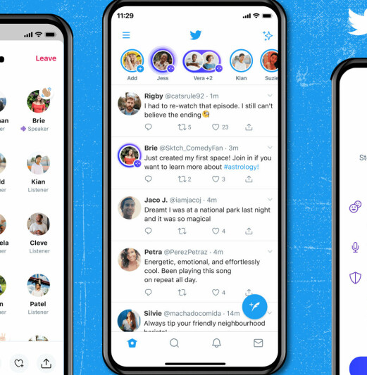 Twitter Spaces blir tilgjengelig for alle