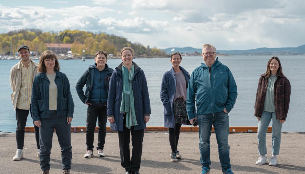 Fra venstre: Trond Søbstad, Lillian Ayla Ersoy, Ronald Sagatun, Mari Strømsvåg, Stine Conradi Prøitz, Øyvind Såtvedt og Marianne Knutsen.