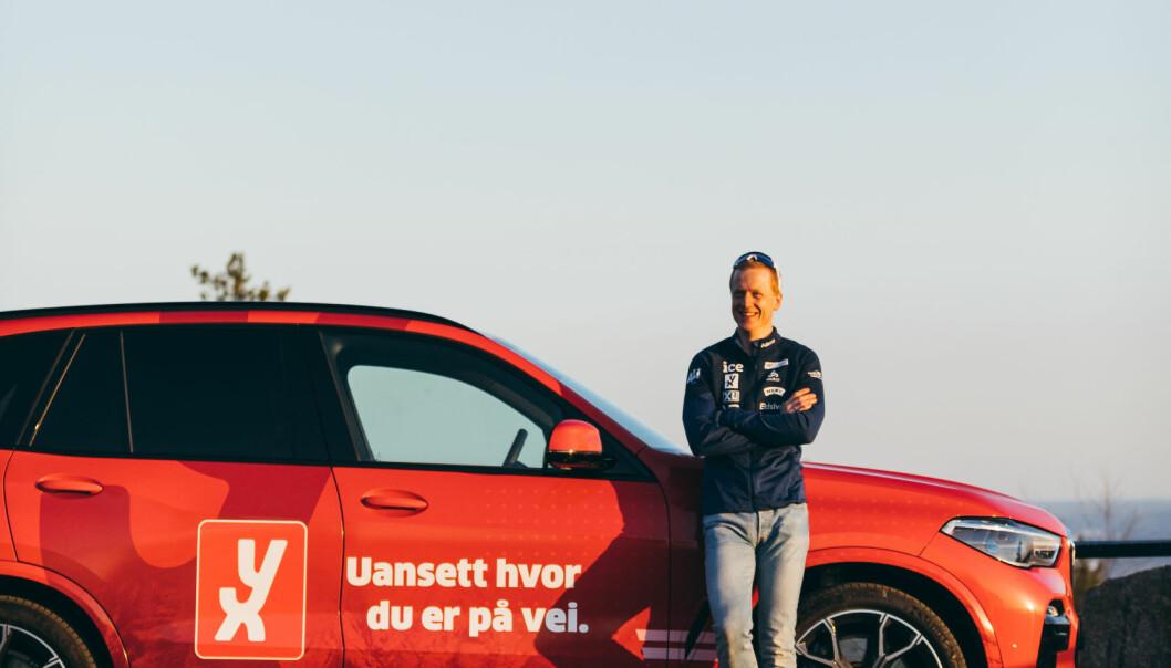 YX blir hovedsponsoren til Johannes Thingnes Bø