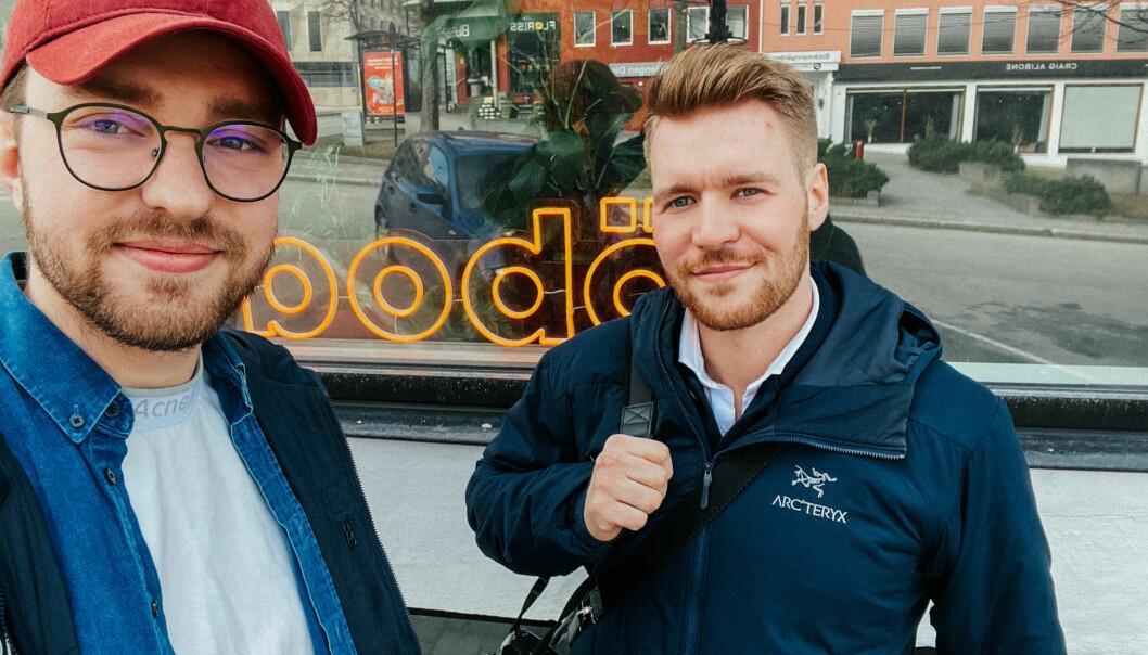 Fredrik Wessel Stenbro fra Sarpsborg og Christian Lindahl Finstad fra Bodø er gutta bak Kontrafei og det nye konseptet bodö. Et konsept som skal gi folket i Bodø og Salten en møteplass for kreativ utfoldelse.