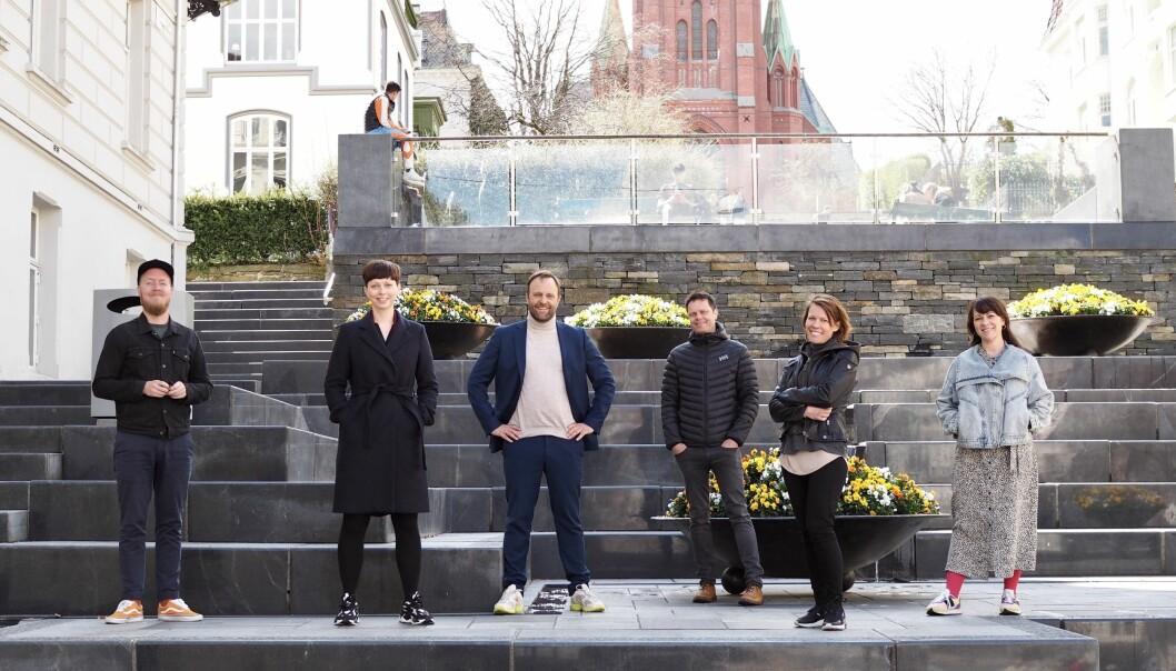 Øyvind Storli Hoel, Synnøve Vindheim Svardal, Sindre Beyer, Kaare Øystein Trædal, Camilla Ådland Jensen, Anita Steinstad.