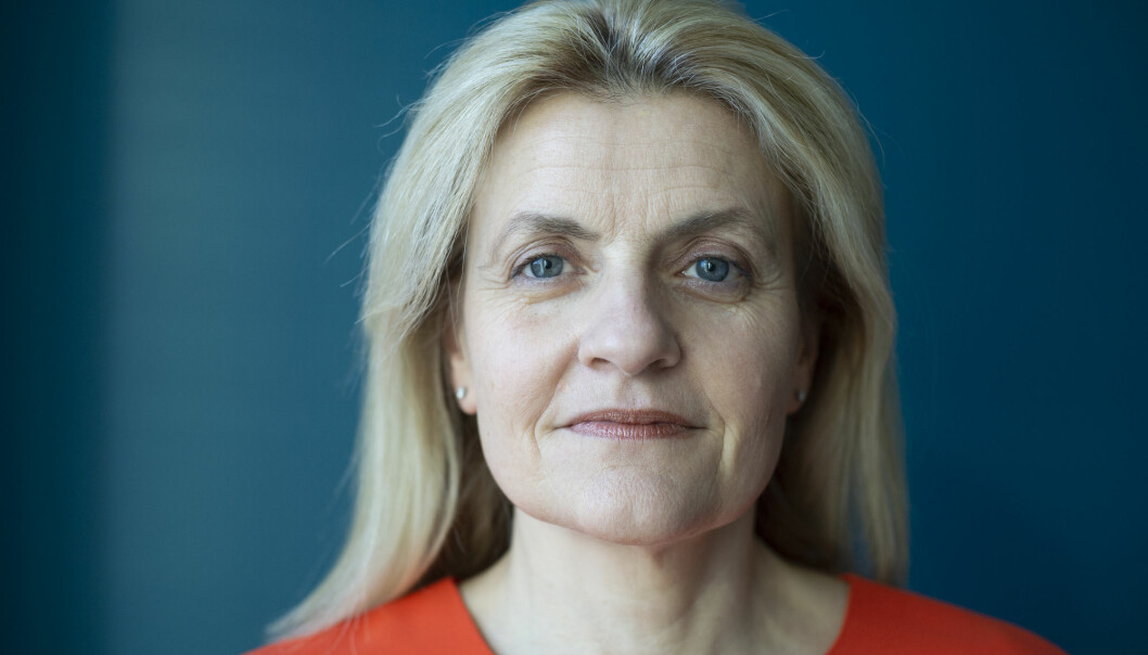 Oslo 20200212.  Forbrukerrådets nye direktør Inger Lise Blyverket. Foto: Annika Byrde / NTB