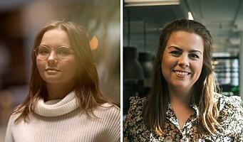 Ida og Mariell er ansatt i Trigger - styrker byrået på innholdsrådgivning og design