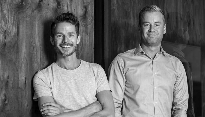 Christian Bråthen-Nordland og Jostein Syvertsen er gründere, eiere og kreativt team på S & B-N. De har begge jobbet med kampanjen som introduserer Andreas Hus.