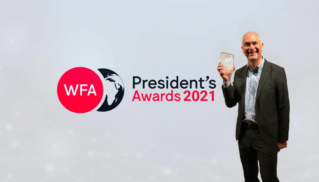 ANFO tok nok en gang med seg utmerkelsen WFA President´s Awards. Denne gang med tjenesten MarTech Stack-check.