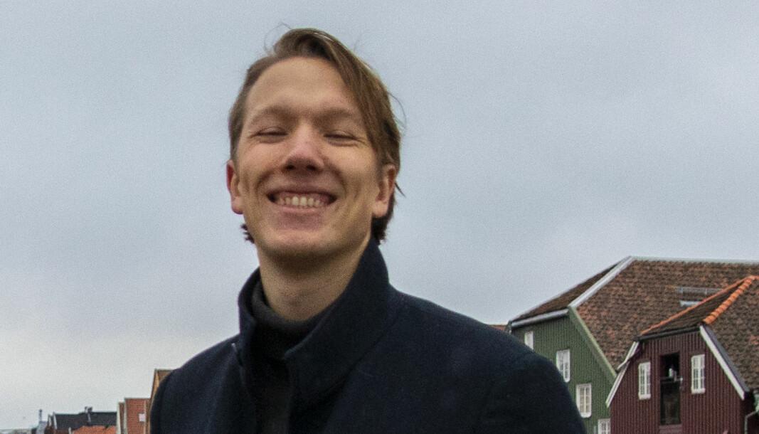 Benjamin Bekken(24) studerer Medievitenskap ved NTNU i Trondheim, i egen hjemby.