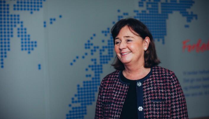 Aministrerende direktør Cecilie Daae i Helse Nord RFH.