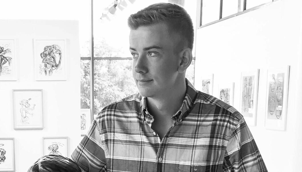 Felix Haave(26) studerer master i Strategisk kommunikasjon på Høyskolen Kristiania .