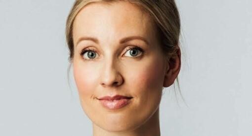 Linn er ansatt som rekrutteringsrådgiver i Medievikar