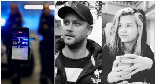 Norske TikTok-profiler raser mot Vest politidistrikt