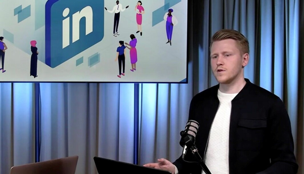Fredrik Fornes har sagt opp jobben som kommunikasjonssjef.