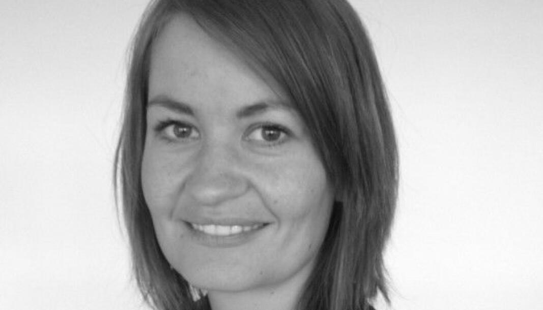 Kjerstin Opdahl Skistad (39) skal jobbe med bærekraft hos Grong Sparebank fra august.