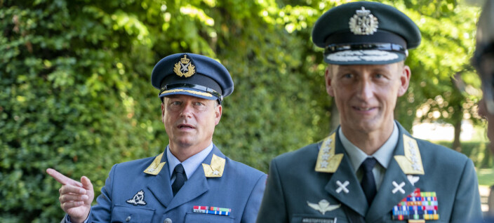 Hyller forsvarssjefen etter Kompani Lauritzen-sak